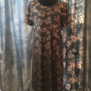 Lularoe Elegant Carly Floral Dress